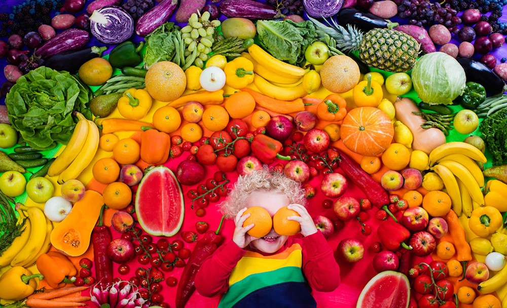 Consume Colorful Foods
